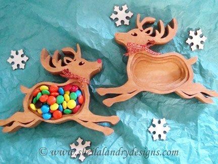 Scrollsaw Reindeer Pattern