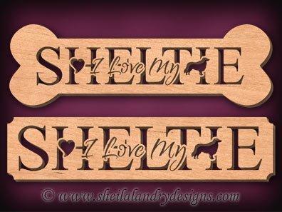Sheltie Scroll Saw Pattern