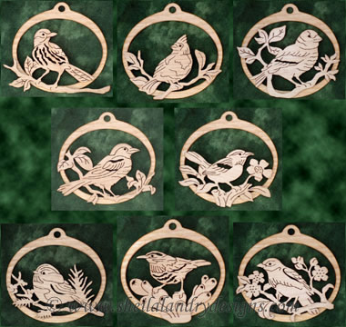 Songbirds Laser Pattern
