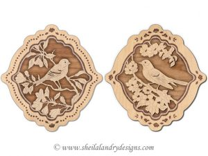 Songbirds Scroll Saw Pattern
