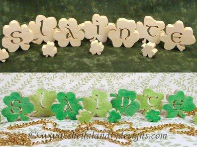 St Patrick's Day Scroll Saw Pattern