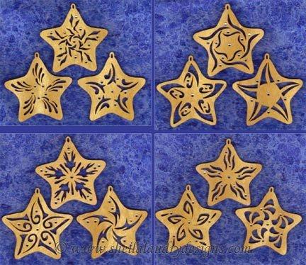 Stars Laser Vector Image
