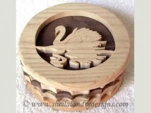 Swan Box Scroll Saw Pattern
