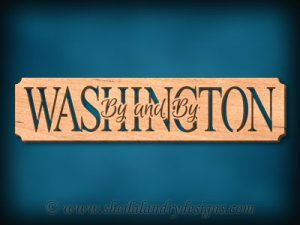Washington - By And By Scroll Saw Pattern