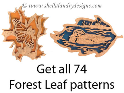 Wildlife Scroll Saw Patterns