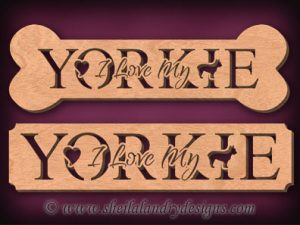 Yorkie Scroll Saw Pattern