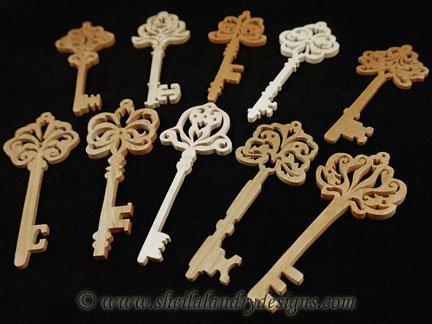 Antique Key Vector Image