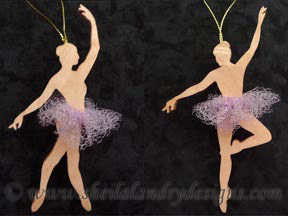 Ballerina Scroll Saw Pattern
