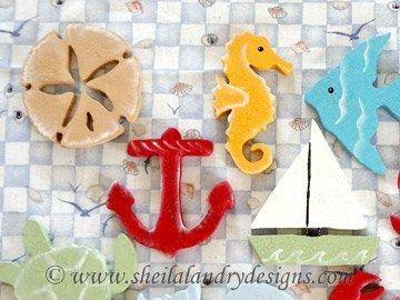 Beach Ornaments Scroll Saw Pattern
