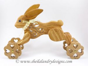 Bunny Scroll Saw Toy Plans