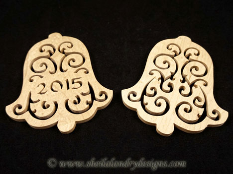 Christmas Bells Scroll Saw Pattern