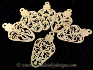 Christmas Light Scroll Saw Pattern