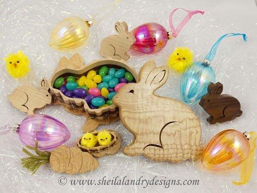 Easter Basket Woodworking Plans