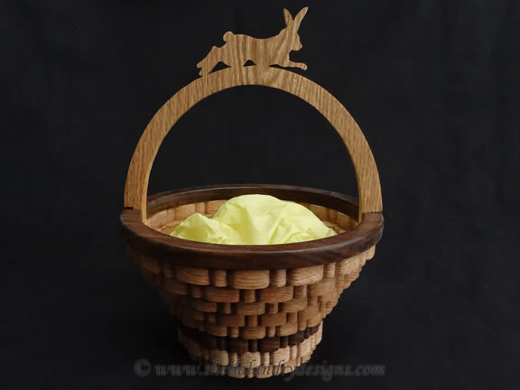 Easter Basket Woodworking Plans