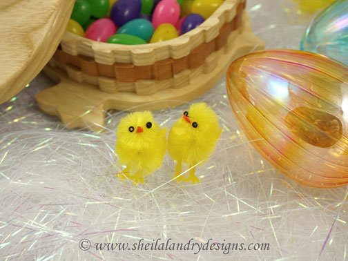 Easter Chick Scroll Saw Pattern