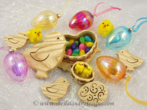 Easter Chick Woodworking Plans