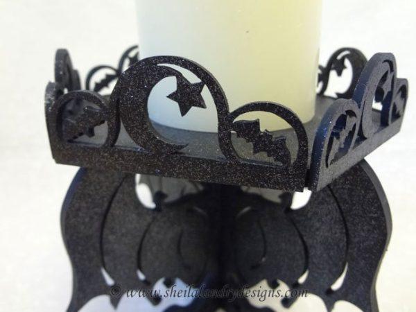 Gothic Bat Halloween Craft