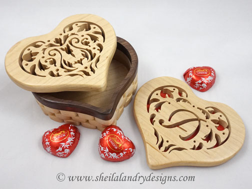 Heart Box Scroll Saw Pattern