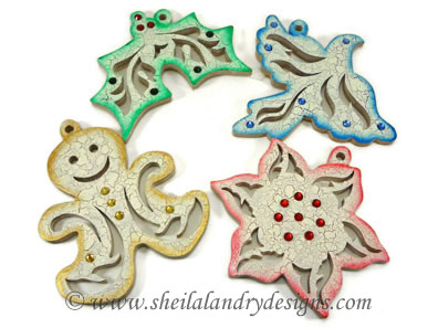 Holly Scroll Saw Christmas Pattern