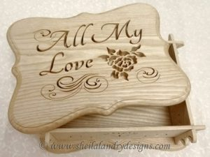 Love Scroll Saw Box Pattern