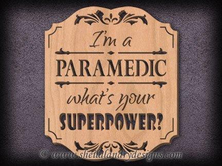 Paramedic Scroll Saw Pattern