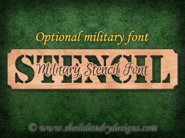 Personalized Scroll Saw Pattern
