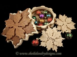 Poinsettia Scroll Saw Box Pattern