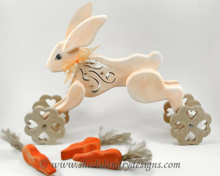 Rabbit Woodworking Toy Plans