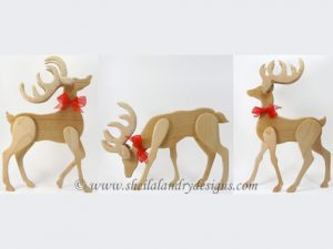 Reindeer Scroll Saw Pattern