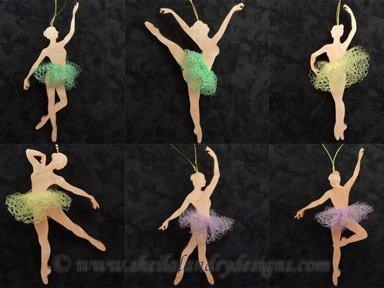 Scroll Saw Ballet Pattern