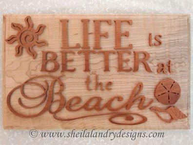 Scroll Saw Beach Pattern