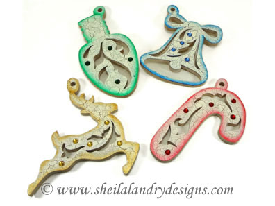 Scroll Saw Bell Ornaments