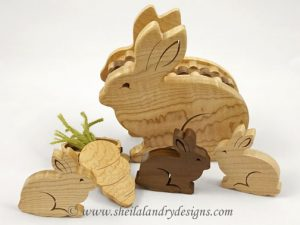 Scroll Saw Bunny Box Pattern
