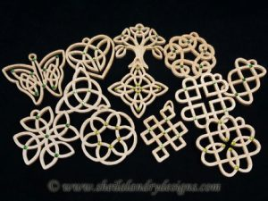Scroll Saw Celtic Ornaments Pattern