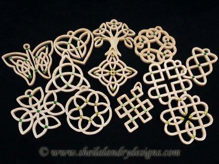Scroll Saw Celtic Ornaments Pattern