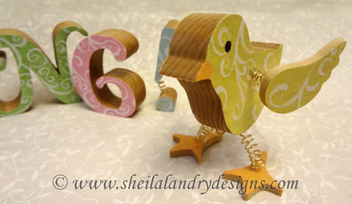 Scroll Saw Chick Pattern