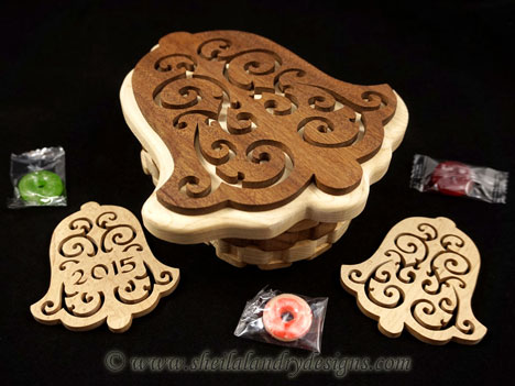 Scroll Saw Christmas Box Pattern