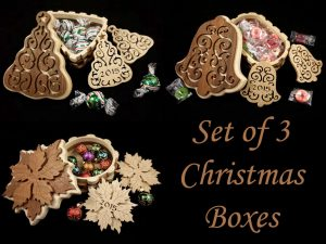 Scroll Saw Christmas Box Patterns