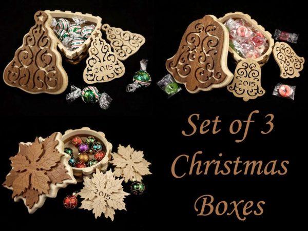 Scroll Saw Christmas Box Patterns