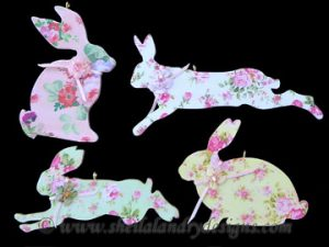 Scroll Saw w Easter Bunny Ornaments
