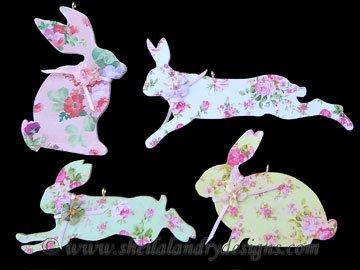 Scroll Saw w Easter Bunny Ornaments