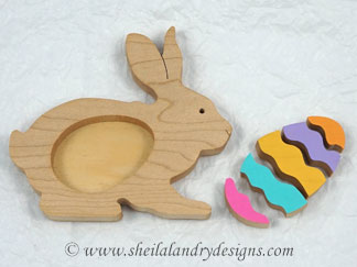 Scroll Saw Easter Bunny