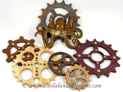 Scroll Saw Gears Pattern