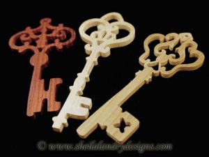 Scroll Saw Key Ornaments