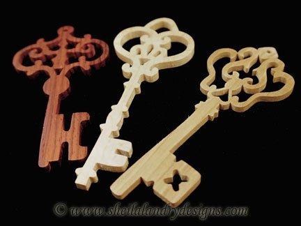 Scroll Saw Key Ornaments