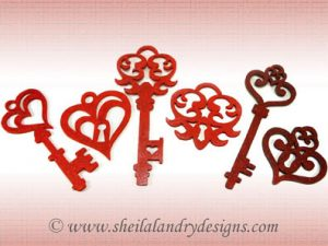 Scroll Saw Keys Pattern