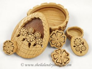 Scroll Saw Layered Basket
