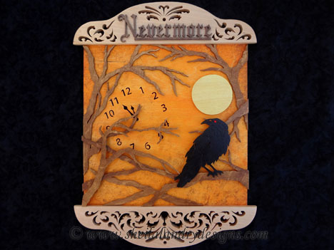Scroll Saw Nevermore Raven Pattern