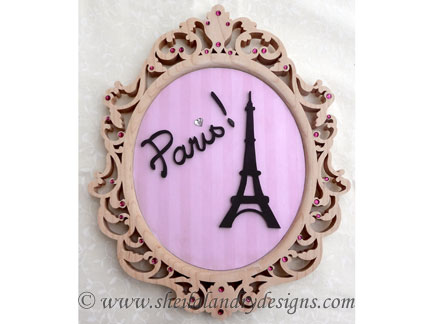 Scroll Saw Paris Pattern