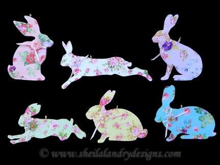 Scroll Saw Rabbit Pattern